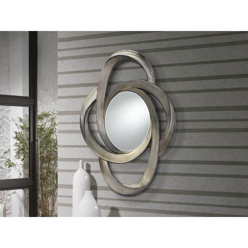 Espejo de pared Galaxia pan de plata  Schuller