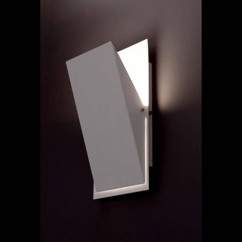 Aplique de pared Homs 1 luz R7s LED blanco  Faro