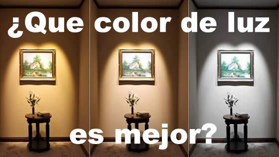 Que color de luz LED es mejor  Igan iluminacin