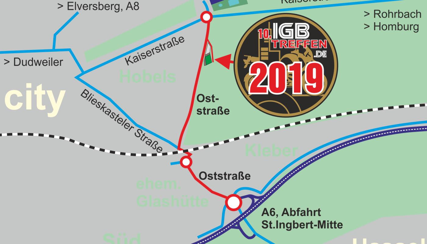 IGB-Treffen neuer Platz