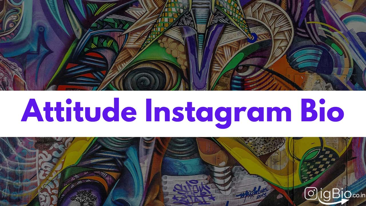 500+ Attitude Instagram Bio for Boys & Girls | Attitude Captions