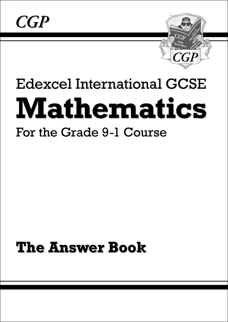 New Edexcel International GCSE Maths Answers for Workbook