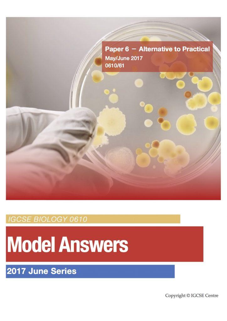 IGCSE Exam Model Answers – IGCSE Centre