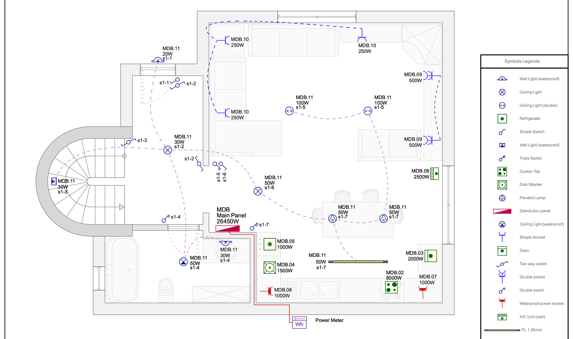 hight resolution of house wiring diagram france