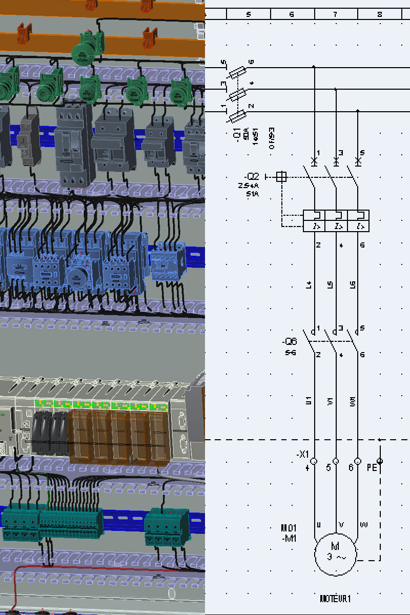 hight resolution of electrical design software packages from ige xao provide powerful functions dedicated to electrical engineering including complete libraries symbols and