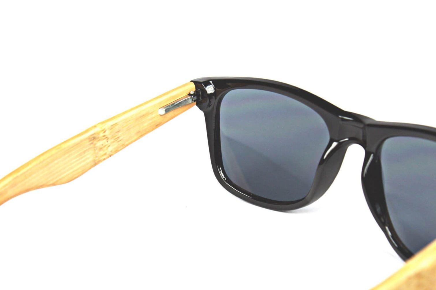 Black Bamboo Wayfarer