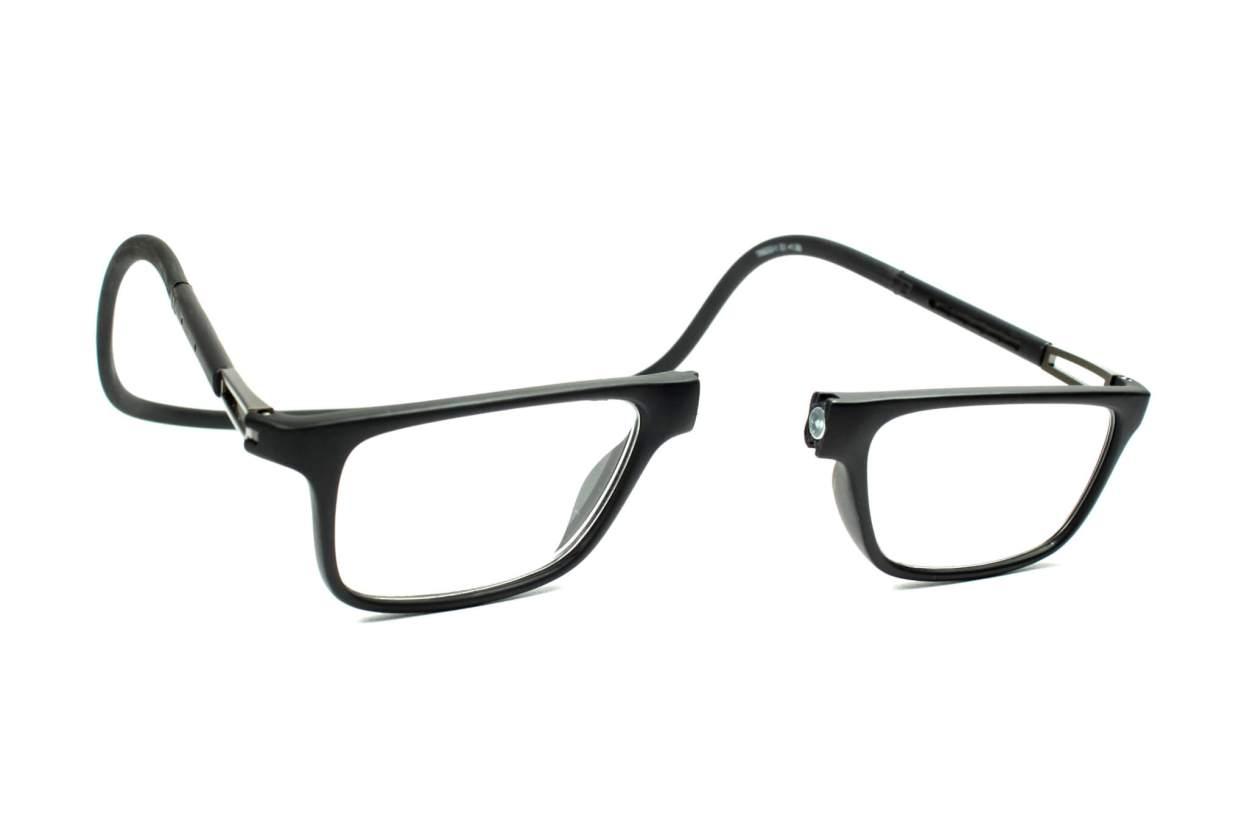 Magnetic Glasses Black colour Neckspec