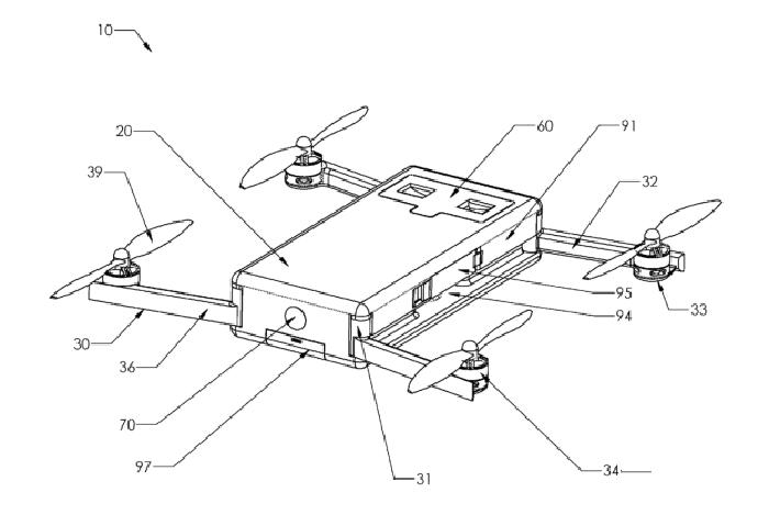Rectangular-box-type-Karma-drone-patent