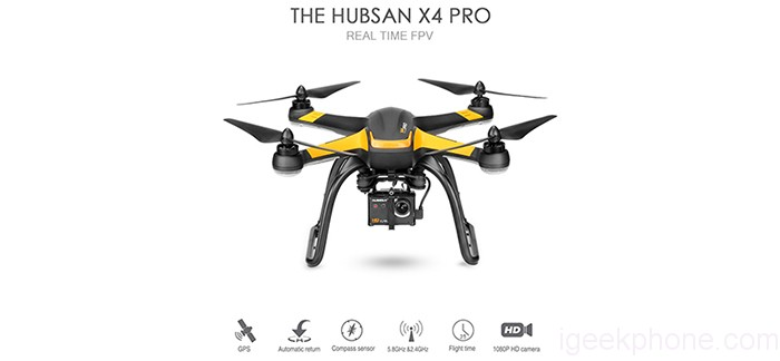 Hubsan H109S X4 Pro on Flash Sale At Insane Price