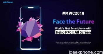 Ulefone T2 Pro MWC 2018 Launch