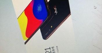 Vivo X21 Leaked Image
