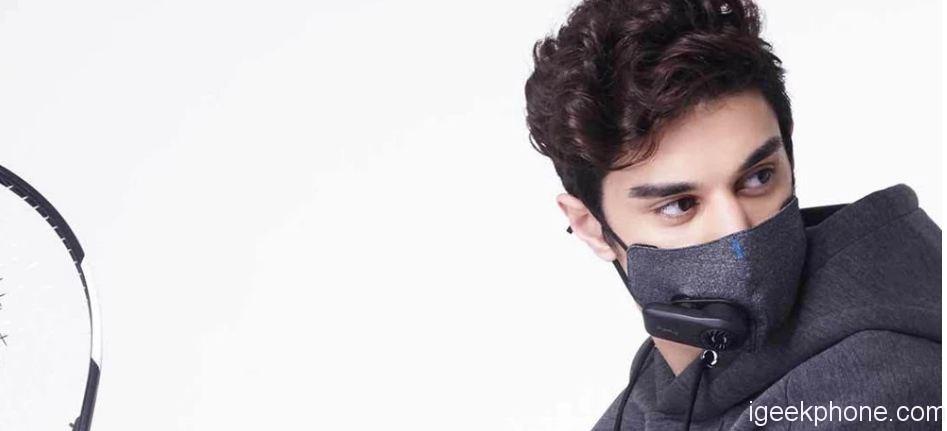 masque sport pollution