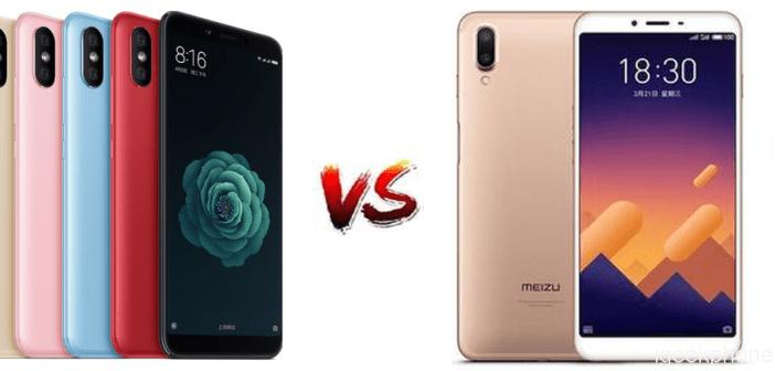 Xiaomi MI 6X vs Meizu E3
