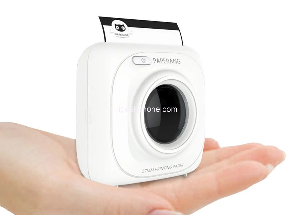 Paperang P1 Portable Thermal Printer Review A Wireless Phone Photo Printer Built In 1000mah Battery For Android Ios For Just 28 90 At Cafago Coupon Inside Igeekphone China Phone Tablet Pc Vr Rc Drone