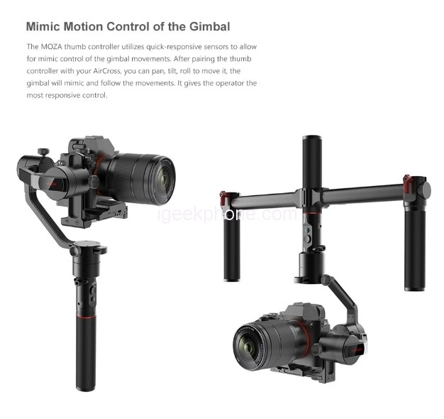 MOZA AirCross Review: a 3-Axis Handheld Gimbal Ultra