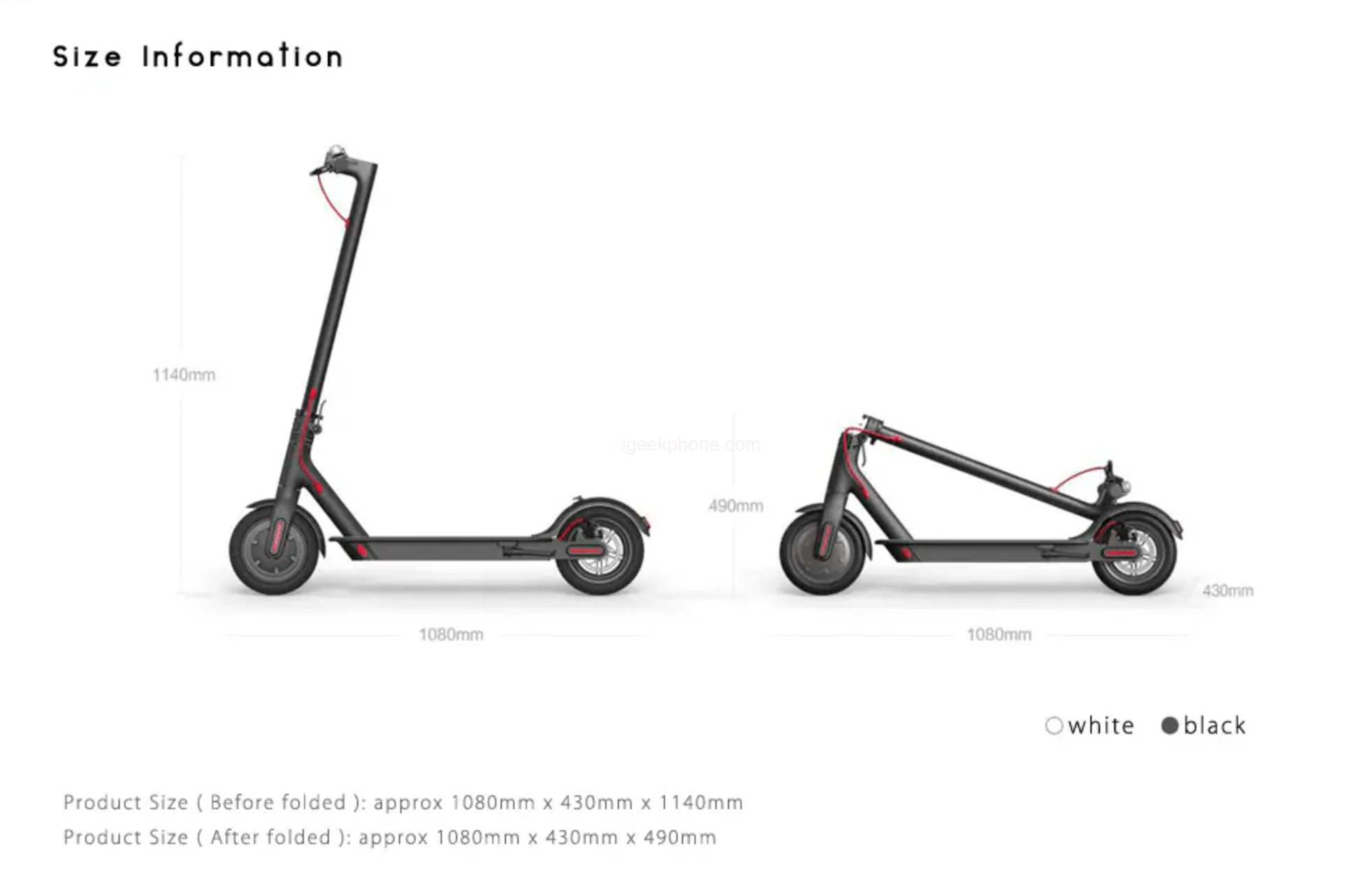 (31% OFF) Xiaomi M365 Folding Electric Scooter: 25km Speed
