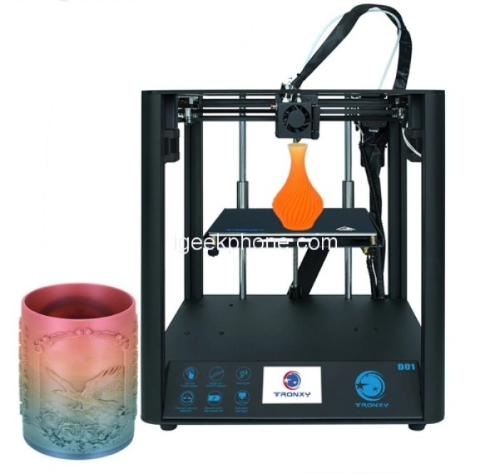 D01 3D Printer best offer from Tomtop now