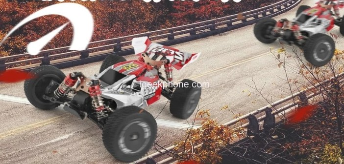 Grab The Wltoys XKS 144001 4WD Off-Road Drift RC Car For Just $69.99 at TOMTOP in Flash Sale