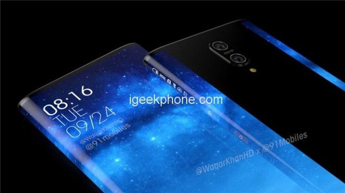 Xiaomi Mi Mix 4 Render