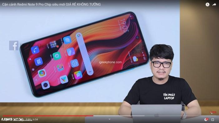 Redmi Note 9 Pro Live Image