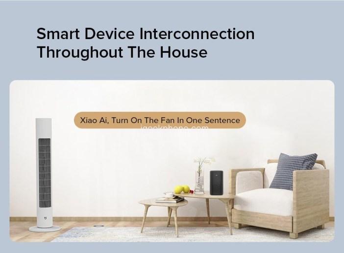 Xiaomi Mijia Smart Bladeless Tower Fan