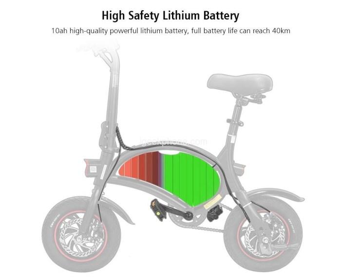 KUGOO Kirin B1 Pro Folding Moped Electric Bike