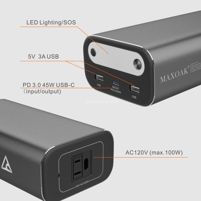 Maxoak AC10 Power Bank
