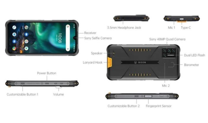 UMIDIGI BISON Smartphone