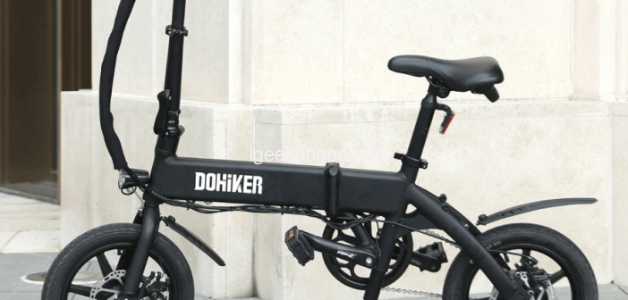 DOHIKER KSB14 Review – Electric Folding Bike at $465.00 From Gearbest