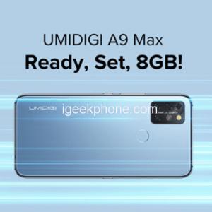 UMIDIGI A9 Max