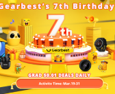 Gearbest 7th Anniversary is Here !! Grab All Products in Extra Discount