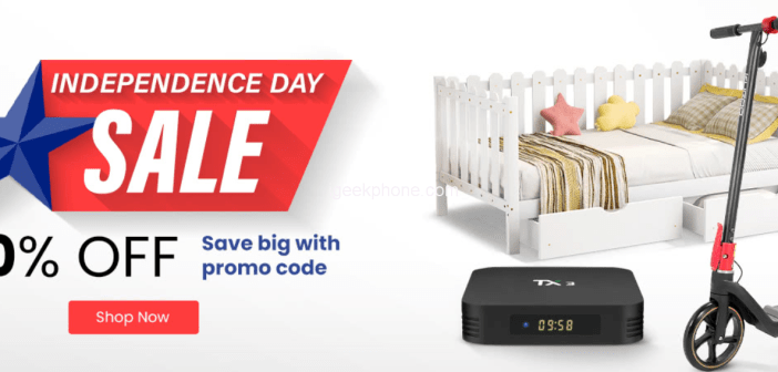 Geekbuying Independence Sale is Here !! Brings You Different Product in Lowest Cost