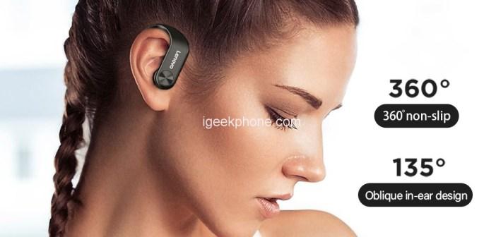 Lenovo LP7 IPX5 Waterproof HIFI Stereo Bass Earphone (Get It Absolutely Free)
