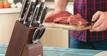 Get Homgeek 8 Pieces Knife Set For Kitchen at €36.54 From TOMTOP
