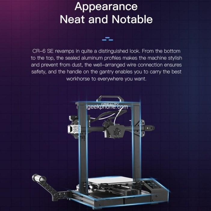 Creality CR6-SE 3D printer