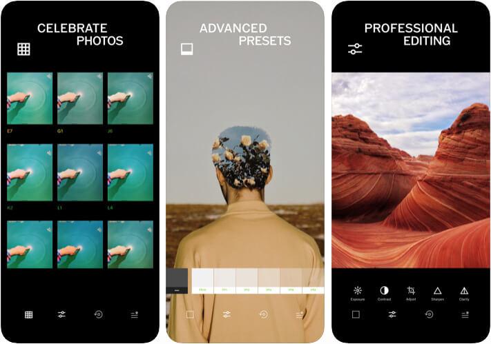 Приложение VSCO Camera для iPhone 11 Pro Max