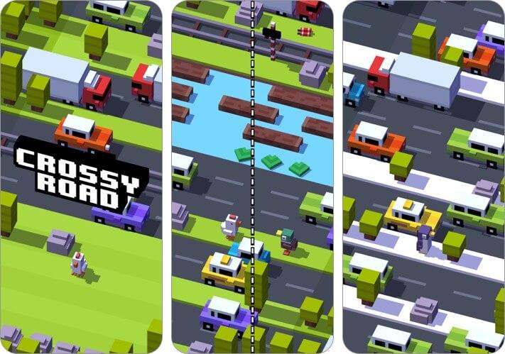 перекресток дорога двое игроков iphone игры скриншот