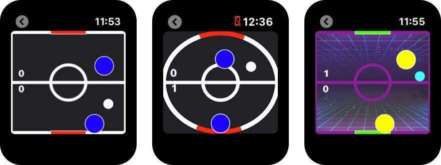 скриншот игры Apple Watch