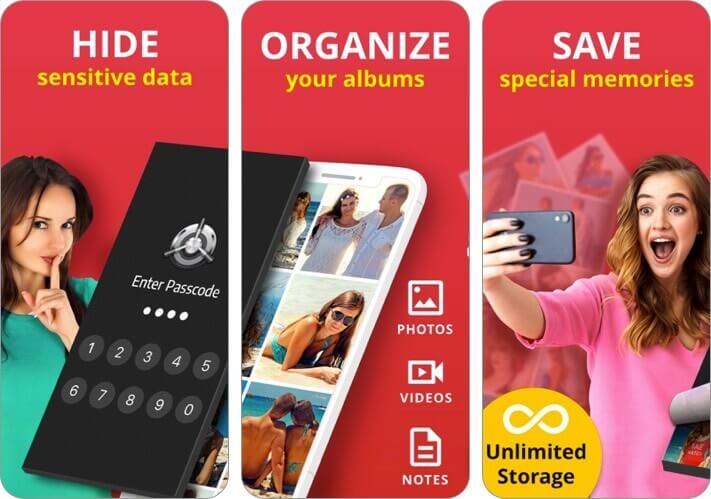 Лучшая секретная папка iPhone Photo Vault