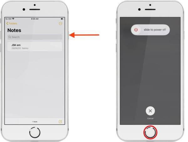 калибровка кнопки домой iphone