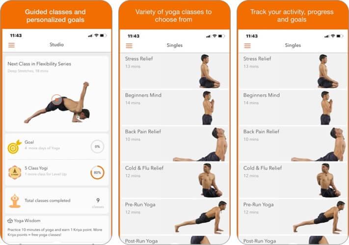 отслеживать скриншот приложения для растяжки iphone и ipad