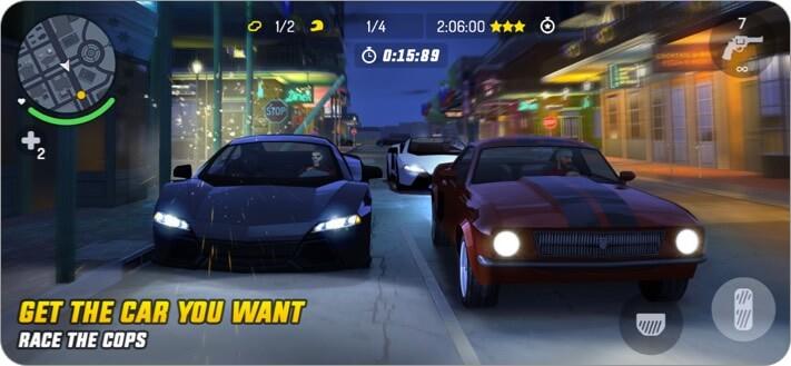 Скриншот игры Gangster New Orleans для iPhone и iPad