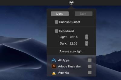 Steuern Sie den Mac Dark-Modus ganz einfach mit NightOwl