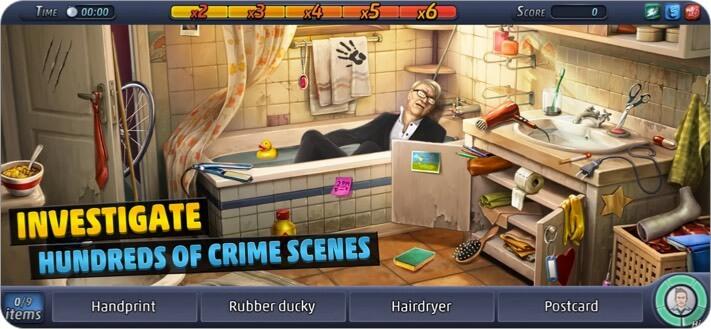 Уголовное дело iPhone и iPad Детективная игра Скриншот