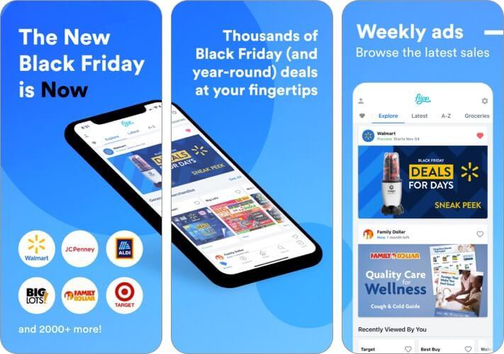 Скриншот приложения Flipp для iPhone и iPad