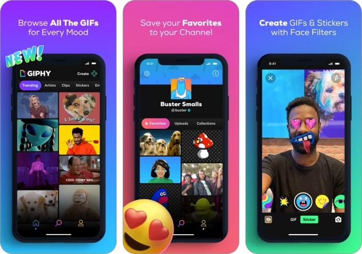 GIPHY Скриншот приложения GIF Maker для iPhone и iPad
