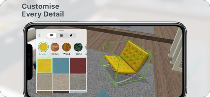 Planner 5D Interior Design Скриншот приложения для iPhone и iPad