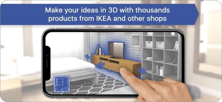 Планировщик комнат Домашний дизайн 3D Приложение для iPhone и iPad Скриншот