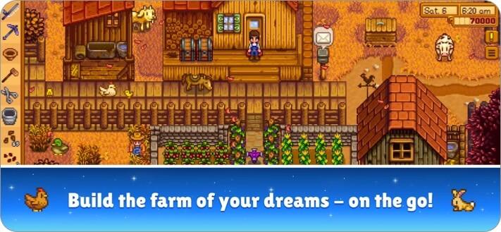 Скриншот ролевой игры Stardew Valley для iPhone и iPad