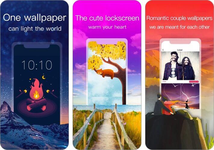 Обои HD Приложение для iPhone и iPad Скриншот